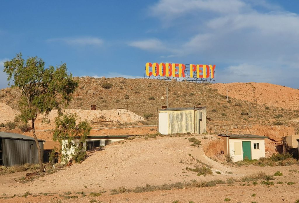 Coober Pedy Welcome