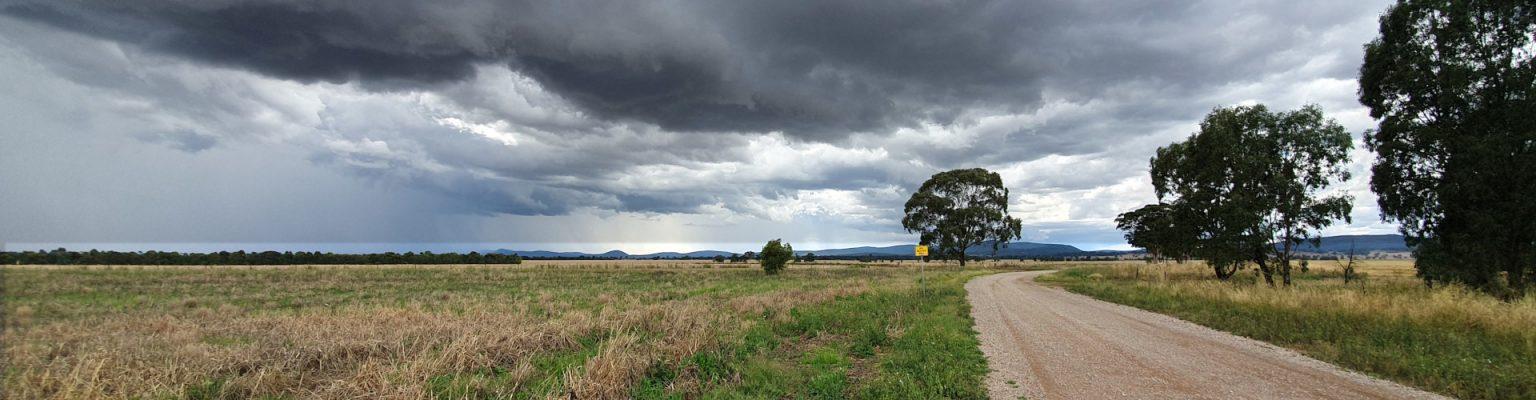 Storm clouds near Parkes